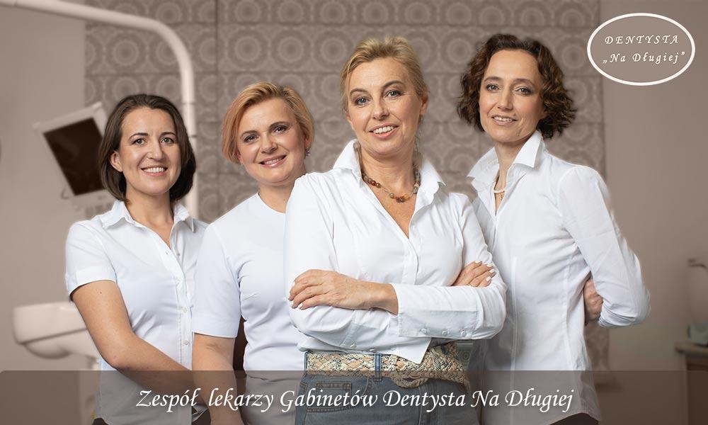 Zespół lekarzy Gabinetów Dentysta Na Długiej 27/1, Warszawa Centrum